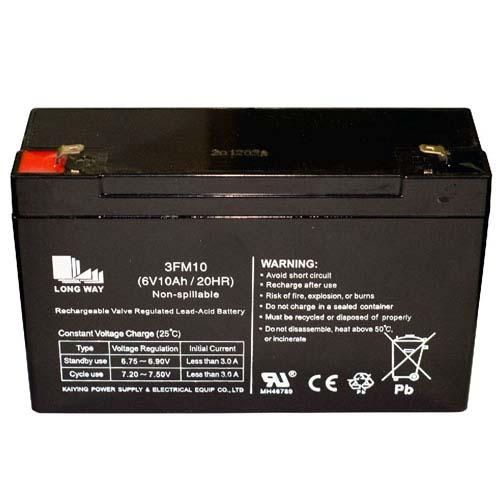 Купить аккумулятор для детского электромобиля 6 вольт 10Ач в Минске