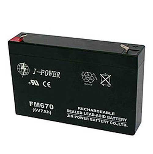 Аккумулятор для детского электромобиля 6 вольт 7Ам