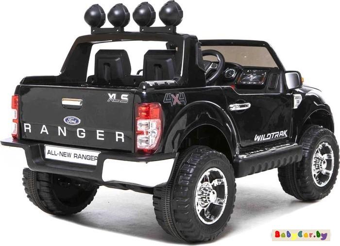 Электромобиль Wingo Ford Ranger Lux (черный лакированный)