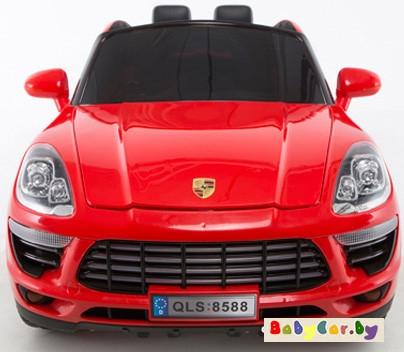 Электромобиль Electric Toys Porsche Macan Lux (красный)