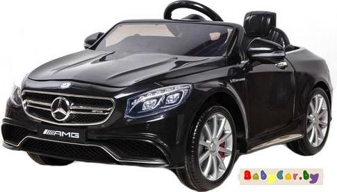 Электромобиль Wingo MERCEDES S63 LUX (черный)
