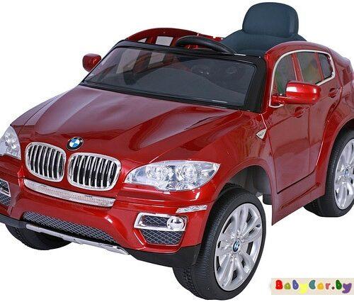 Электромобиль Wingo BMW X6 LUX (бордо лакированный)