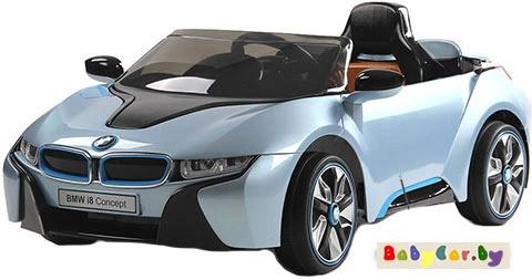 Электромобиль Wingo BMW i8 LUX (голубой)