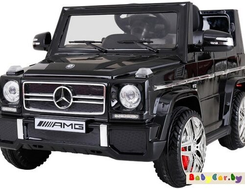 Электромобиль Wingo MERCEDES G65 EVA LUX (черный лакированный)