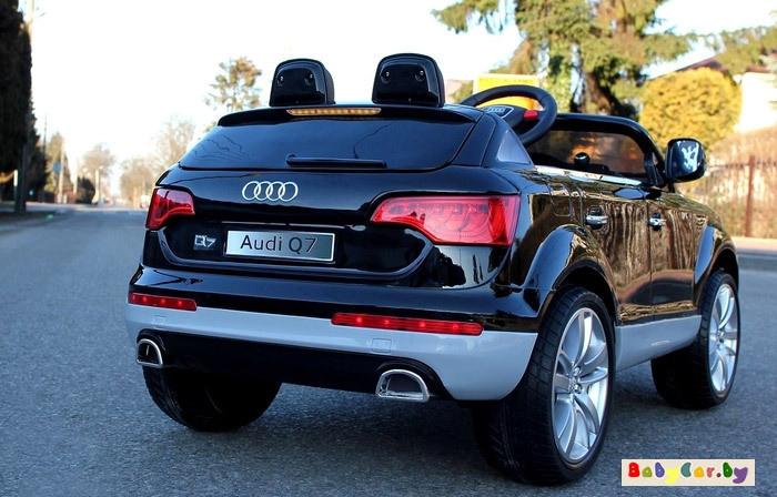Электромобиль Wingo AUDI Q7 (черный)
