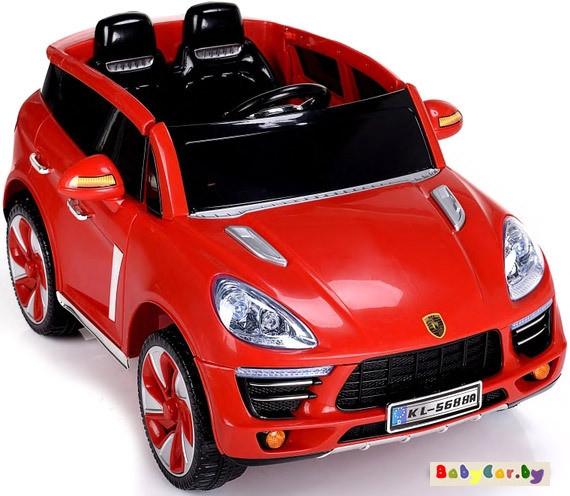 Электромобиль Wingo PORSCHE CAYENNE (красный)