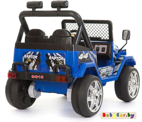 Электромобиль Electric Toys Jeep Raptor
