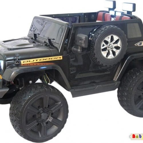 Электромобиль Electric Toys Jeep Wrangler (черный)