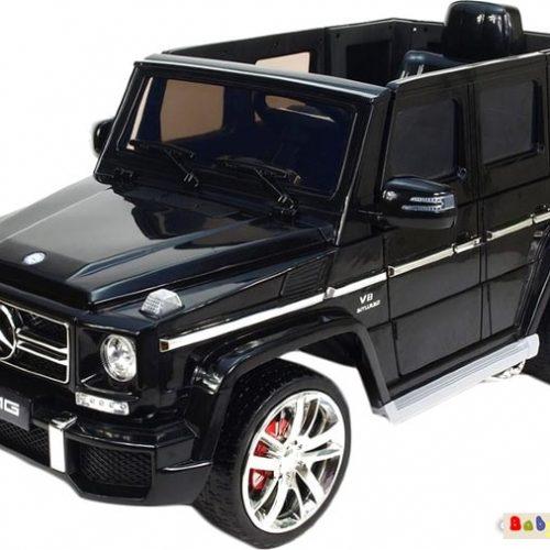 Электромобиль Wingo MERCEDES G63 EVA LUX (черный)