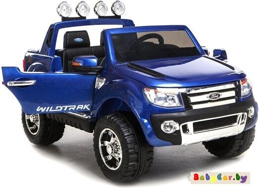 Электромобиль Wingo Ford Ranger Lux (синий лакированный)