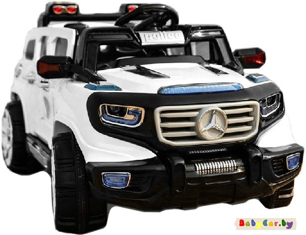 Электромобиль Wingo MERCEDES Ener-G-Force Police (белый)