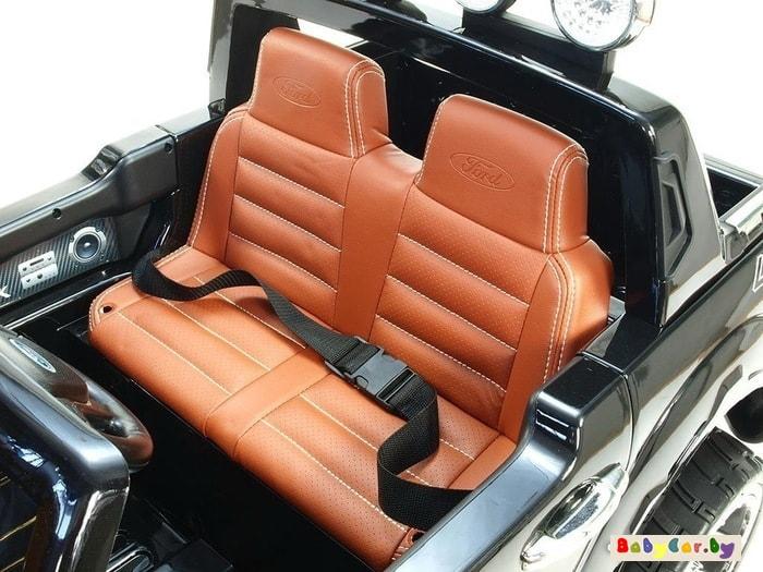 Электромобиль Electric Toys Ford Ranger Lux (черный)